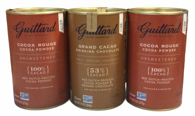 2Pk Guittard Cocoa Rouge Cocoa Powder 100% Unsweetened Red Dutch-Process Cocoa