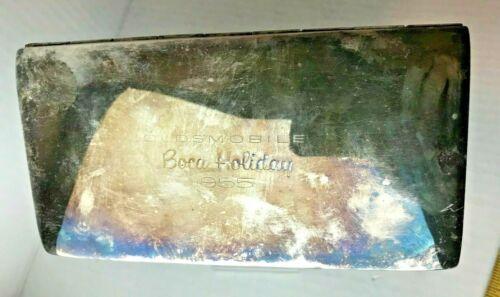 Vintage OLDSMOBILE BOCA HOLLIDAY 1955 Cigarette box Poole EPCA