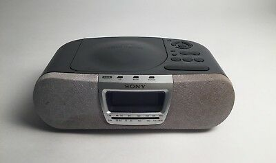 Sony Dream Machine ICF-CD830 Alarm Clock Radio CD Player