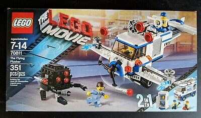 LEGO The LEGO Movie – The Flying Flusher #70811 Brand New in Factory Sealed Box