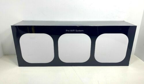 ✳️✳️ NEW! ✳️✳️ eero PRO WiFi System (3 eeros) 2nd Generation White B010301 ✳️✳️