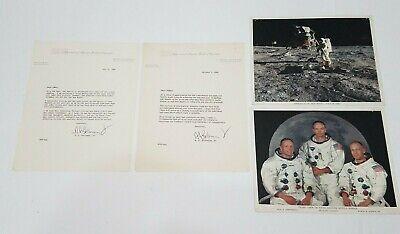 NASA Apollo 11 Moon Kennedy Memorabilia Ephemera IBM Employee Letters 1969 Pics