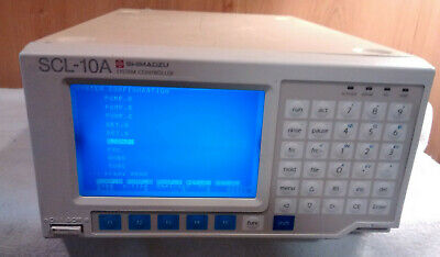 Shimadzu Scl-10a Vp System Controller Chromatography Hplc - Fast Shipping