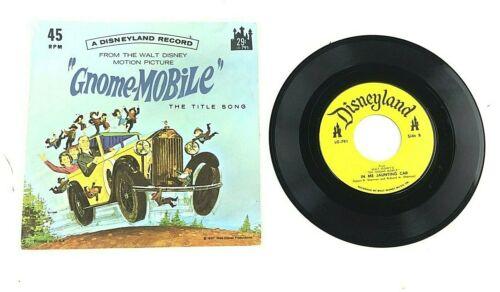 "1967 Walt Disney ""The Gnome-Mobile"" The Title Song 45 RMP Disneyland LP Record"