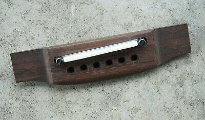 Rosewood Wood Acoustic Guitar Adjustable Bridge