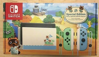 Nintendo Switch Console 32GB Animal Crossing New Horizons Edition - ON HAND