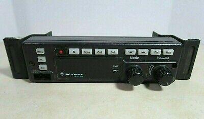 Motorola A4 Astro Spectra Remote Radio Rotary Control Head Hln6432d