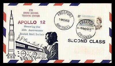 DR WHO 1969 BAHAMAS FREEPORT SPACE TRACKING STA APOLLO 12  g19643