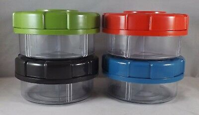 Lifetime Brands Divided Storage Container W  Removable Dividers   Maglid   New