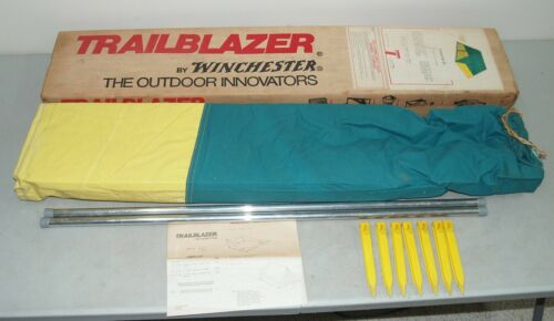 """Amazing!! Vtg TRAILBLAZER by WINCHESTER """"Camp Out III"""" CANVAS TENT (5"""