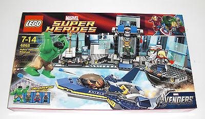 LEGO Super Heroes 6868 - Hulks Helicarrier Ausbruch - Breakout Marvel Hulk NEU online kaufen