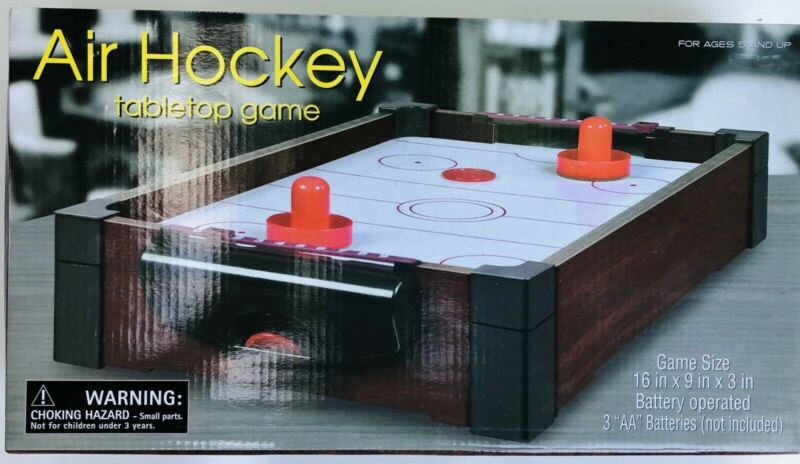 Air Hockey Tabletop Game For Ages 5 And Up 16 In X 9 In X 3 In Battery Operated