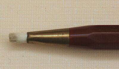 Vintage retractable pen style brush - made in Germany. comprar usado  Enviando para Brazil