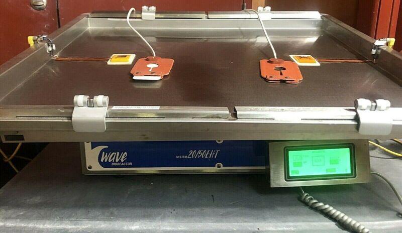 GE Cytiva WAVE 20/50EHTD Bioreactor 50L Tray Dual Bag Heater w 60D Warranty