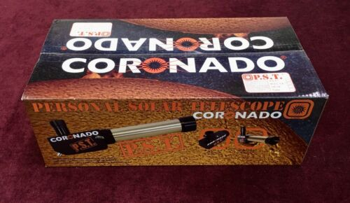 CORONADO PERSONAL SOLAR TELESCOPE (PST) NEW IN THE BOX WITH FREE SHIPPING