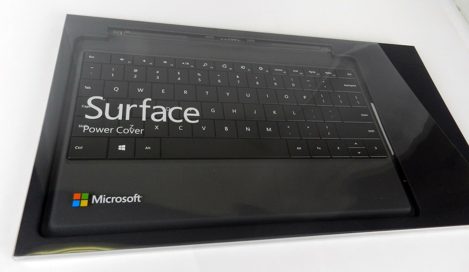 Genuine Microsoft Surface Power Cover Keyboard - Ms Surfa...