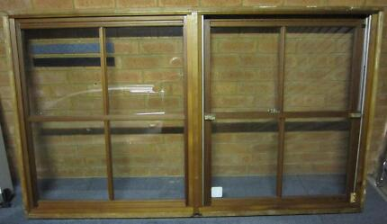 TIMBER DOUBLE HUNG AND FIXED PANEL WINDOW H: 1190 W: 2060 Gladesville Ryde Area Preview