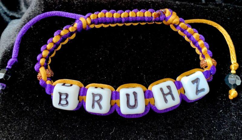 Divine Nine  Inspired  Omega Psi Phi Shamballa Styled Bracelet- BRUHZ