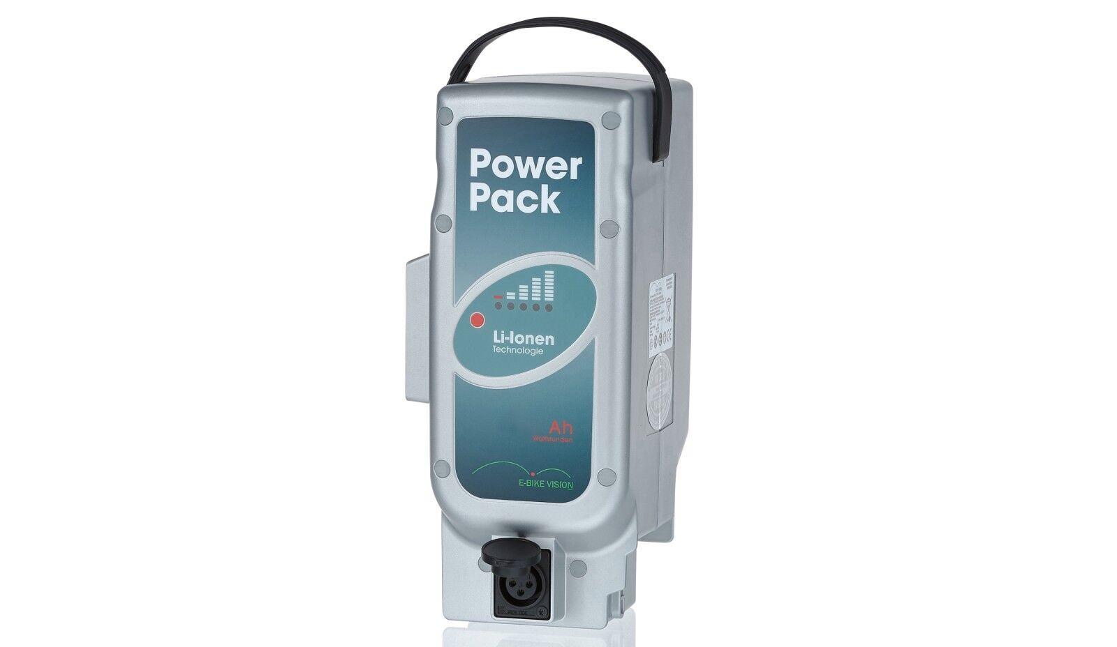 E-BIKE VISION Power Pack Akku Ersatzakku 21 Ah Panasonic 26V Mittelmotor eBike