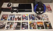 PS3 bundle : 2 controllers, 13 games, wheel, headset & singstar Brunswick East Moreland Area Preview