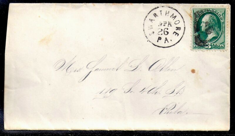 1880s Swarthmore, Pennsylvania to Philadelphia - Part Strike of Fancy