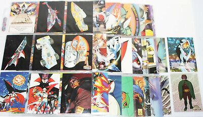 Battle of the Planets 72 Trading Card Set 2002 G -Force w/ Sketch &
