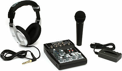 Behringer PODCASTUDIO USB Podcast Kit Full Recording Starter Studio PERFECT!