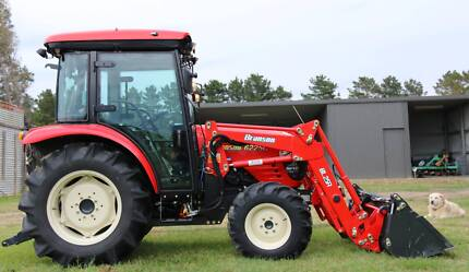 Branson Tractor 6225c 4 in 1 FEL Made in Korea NOT Chinese