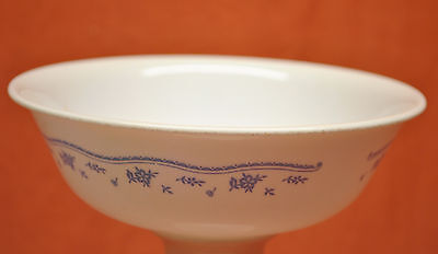 """Corelle By Corning 6-14"""" Coupe Cereal Bowl Morning Blue Pattern"""