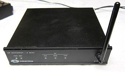 CRESTRON MODEL STRFGWX RF GATEWAY-2 WAY WITH POWER SCHOOL SURPLUS