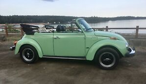 1979 VW Convertible Beetle