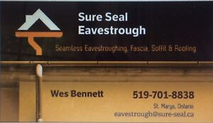Leaky gutters?? CALL TODAY Sure Seal Eavestrough