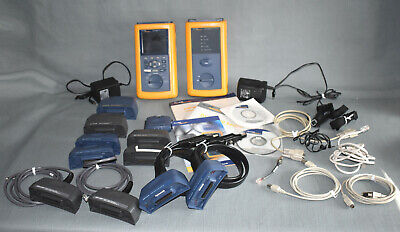 Fluke Dsp-4300 Digital Cable Analyzer Tester Dsp-4300sr Smart Remote Adapters