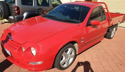 2001 Ford Falcon Tickford XR8 V8 Cab Chassis Ute Quinns Rocks Wanneroo Area Preview