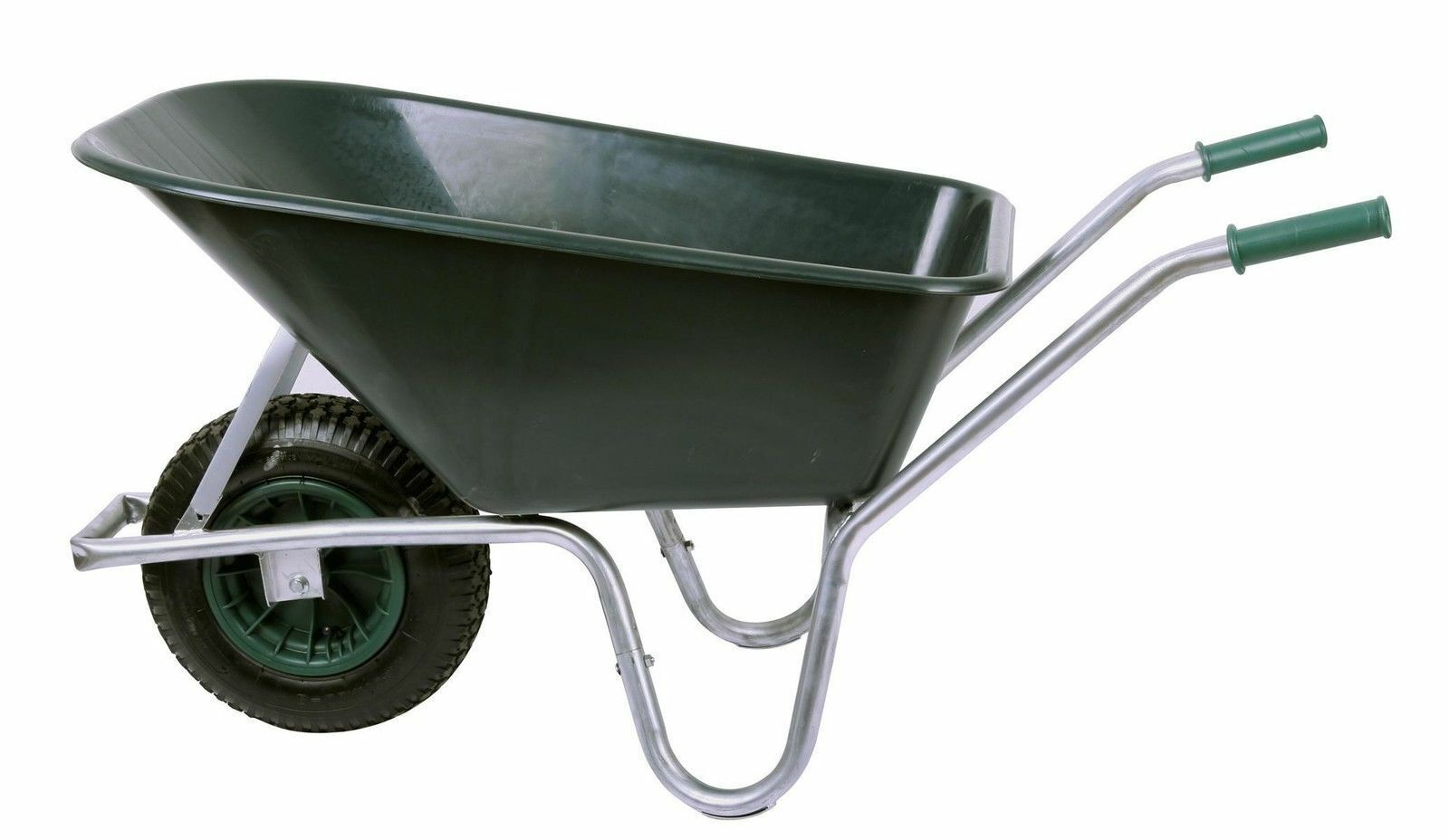 Schubkarre PROFI 100 ltr Baukarre, Bauschubkarre, Gartenkarre verzinkt 250kg