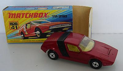 Matchbox - Superfast - MB 41 Siva Spyder - OVP -