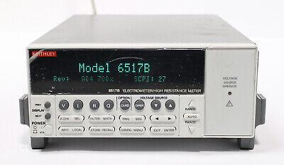 Keithley 6517b Electrometer High Resistance Meter