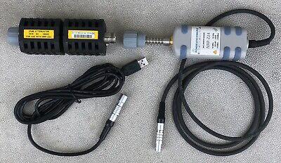 Rohde Schwarz Nrp-z24 10 Mhz-18 Ghz Power Sensor W 25 Db Attenuator Usb Cable