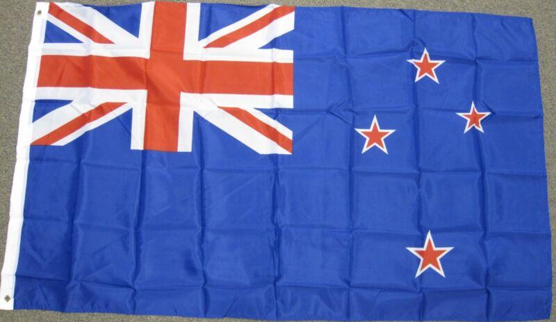 3X5 NEW ZEALAND FLAG NATIONAL BANNER 3