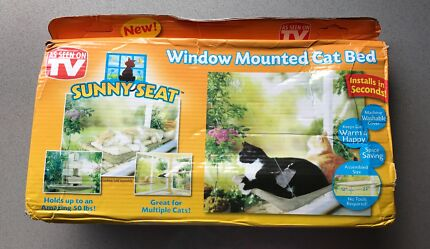 "Window mounted cat bed ""sunny seat"" NEW"