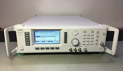 Anritsu 68369anv Synthesized Sweeper Signal Generator 10 Mhz 40 Ghz 2b 11 Cald