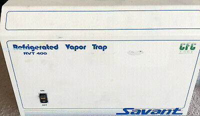 Thermo Scientific Savant Rvt400 Refrigerated Vapor Trap Rvt400-120