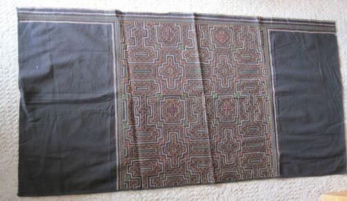 AUTHENTIC OLD SHIPIBO CONIBO Embroidered  Cotton Cloth FALDA Skirt #2 FREE SHIP