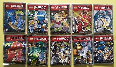 LEGO® Ninjago Limitierte Figuren  Cyren Jay Kai Ming Cole Zane Krait Limited
