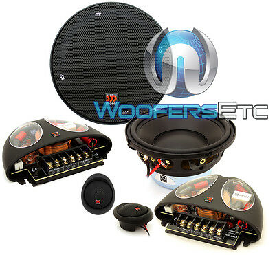 "Used, MOREL HYBRID 402 4"" PRO CAR 2WAY COMPONENT SPEAKERS MIDS TWEETERS CROSSOVERS NEW for sale  Shipping to South Africa"