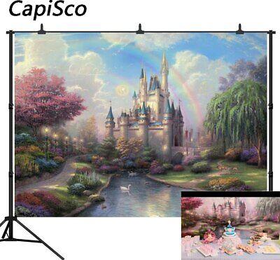 Photography Background Fairy Tale Treasure Birthday Party Cartoon Photo Backdrop ()