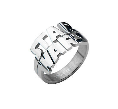 Star Wars Cut Out Logo Stainless Steel Ring