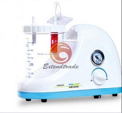 Dental Medical Emergency Vacuum Phlegm Suction Unit Electric Portable 220v 50hz