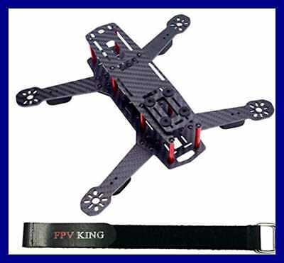 250Mm FPV Racing Drone Carve out 3K Carbon Fiber Quadcopter For Mini QAV250 + 25Cm L