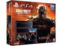 Sony PlayStation 4 1TB with Call of Duty : Black Ops 3 - Limited Edition Boxed Like New.